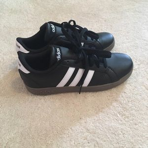 NWOT Black Adidas Superstar Shoes